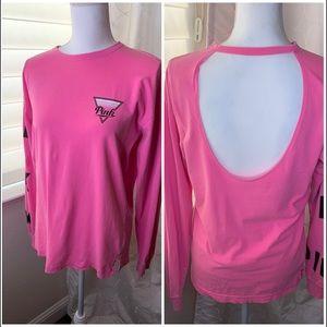 Pink Victoria's Secret Pink long sleeved tee